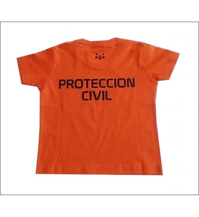 CAMISETA M/C RACCOON PROTECCION CIVIL INFANTIL
