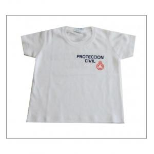 CAMISETA M/C RACCOON PROTECCION CIVIL ADULTO