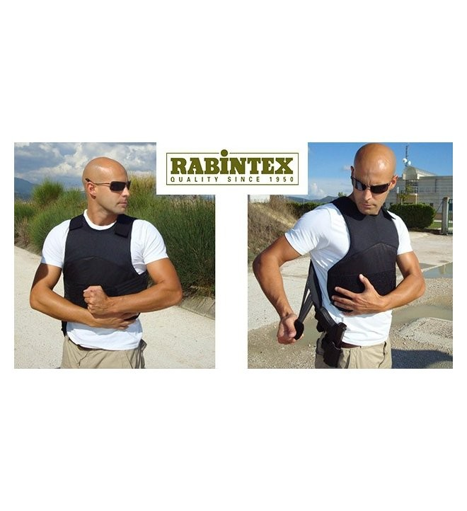 CHALECO RABINTEX ANTIBALAS ANTICUCHILLO. INT/EXT