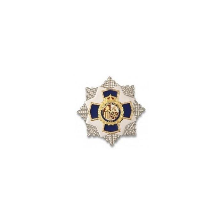 PIN PEQUEÑO PLACA A LA DEDICACION POLICIAL XXXV AÑOS