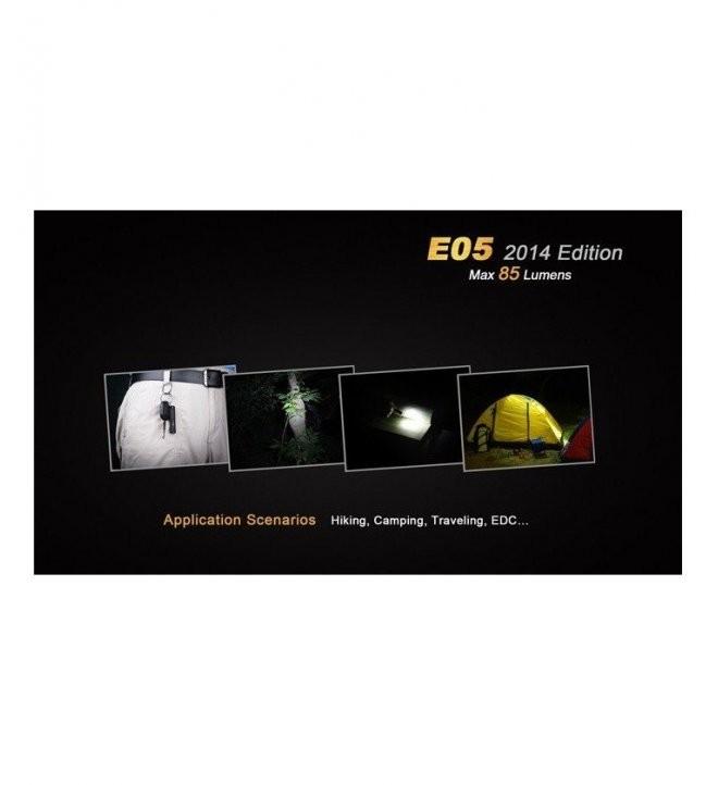MINI LINTERNA LED E05N 85 LUMENES